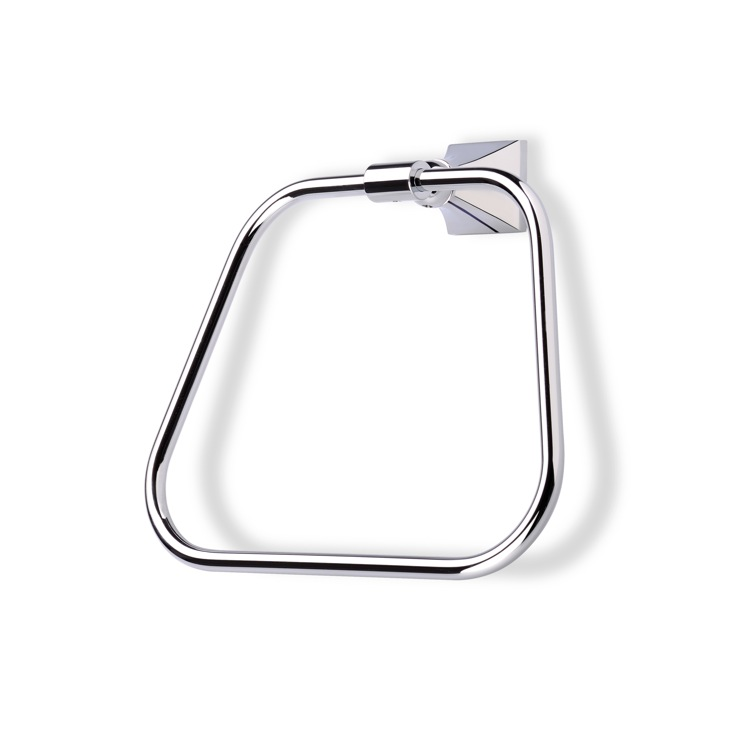 Towel Ring, StilHaus PR07, Classic-Style Brass Towel Ring