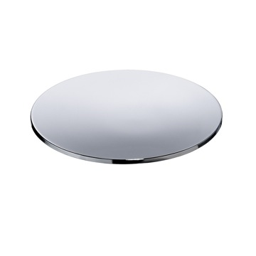 Soap Dish, Windisch 92193, Round Chrome or Gold Soap Dish