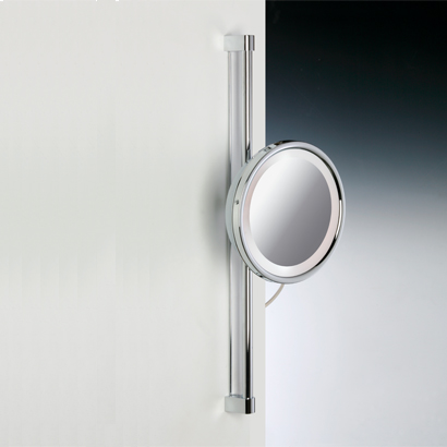 Makeup Mirror, Windisch 99182, Chrome or Gold Round Wall Mounted 3x or 5x Magnifying Mirror