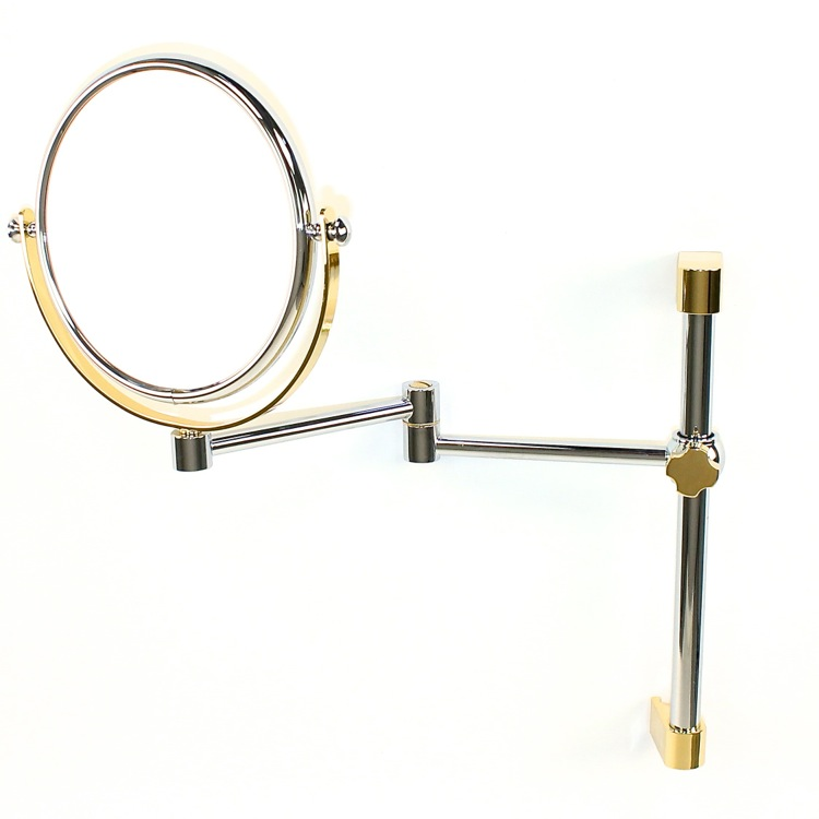 Makeup Mirror, Windisch 99140, Wall Mounted Double Face 3x, 5x, 5xop, or 7xop Magnifying Mirror