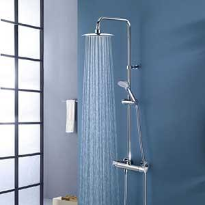 Exposed Pipe Showers
