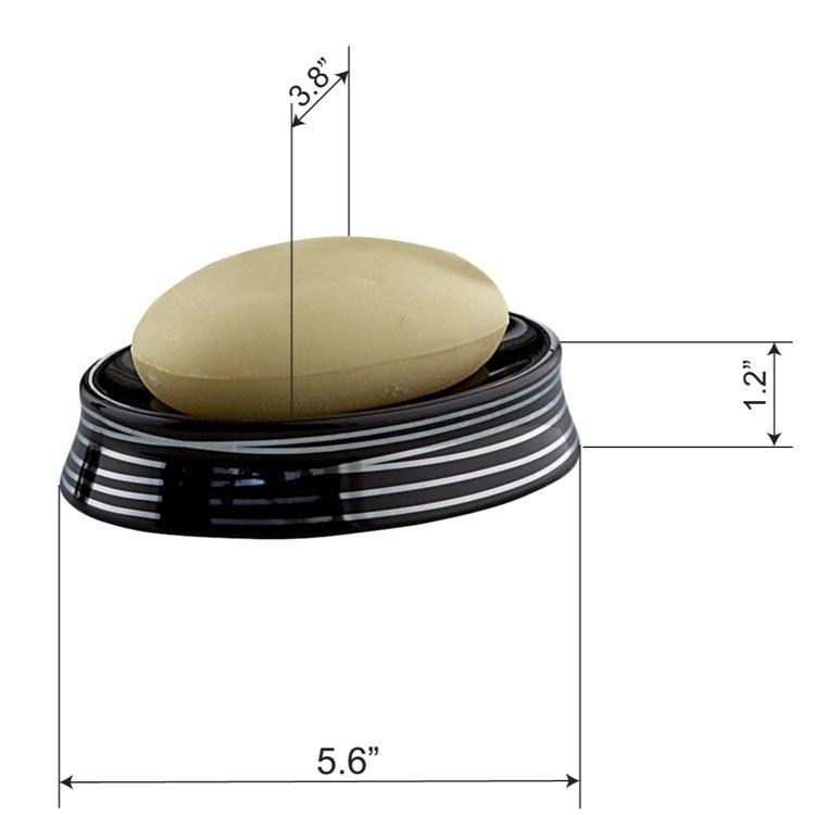 Gedy 3911 Soap Dish Diva Nameek S